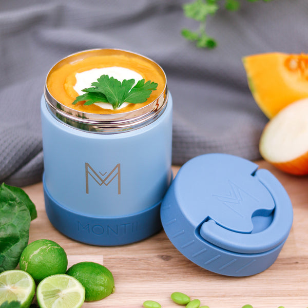 montiico insulated food jar slate
