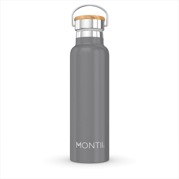 MontiiCo Original Drink Bottle - Grey