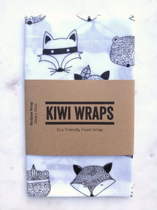 Kiwi Wrap - Tribal Woodlands - Medium