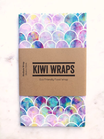 Kiwi Wrap - Mermaid Tail - Medium