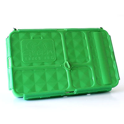 GO GREEN  Original Lunch Box Set LARGE-  Green Under Construction