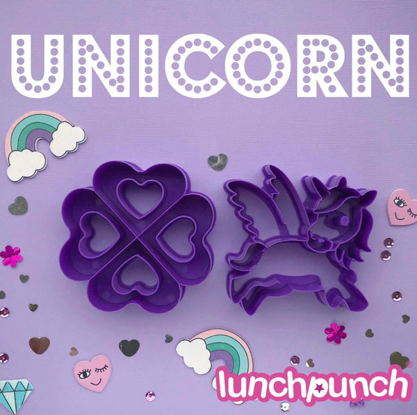 unicorn lunch punch sandwich cutter