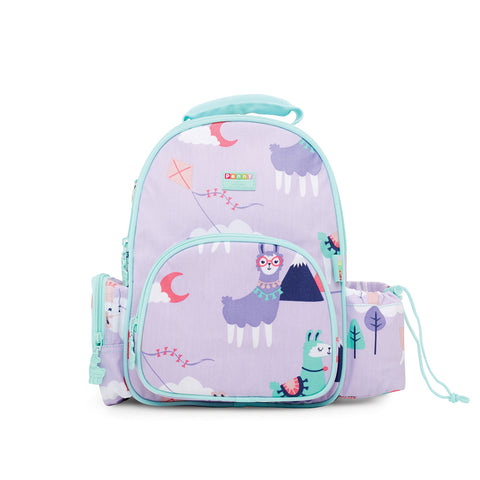 penny scallan loopy llama medium backpack