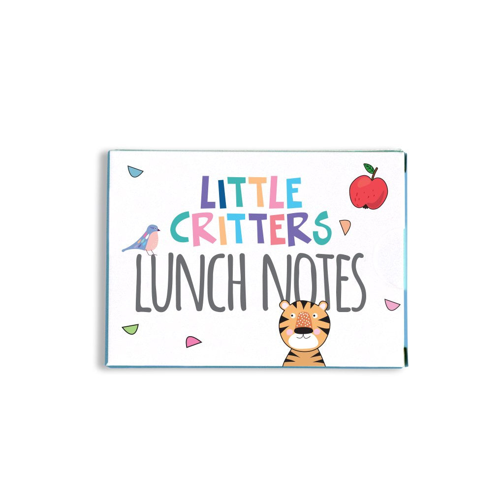 sprout and sparrow little critters lunch notes