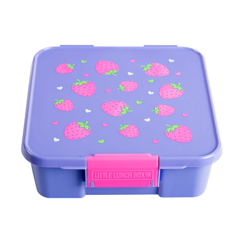 little lunchbox co bento three strawberry