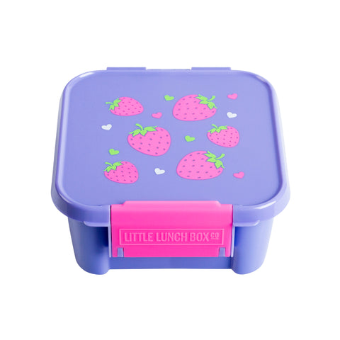little lunchbox co bento two strawberry