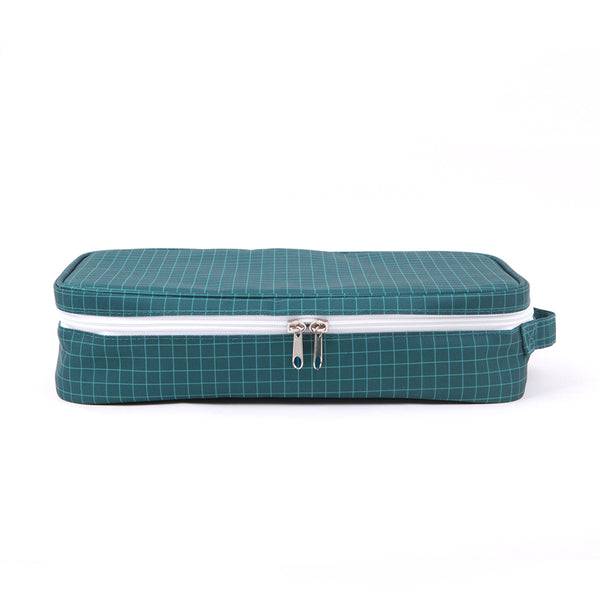 Love Mae - Cooler Bag with Ice Brick - Navy Grid
