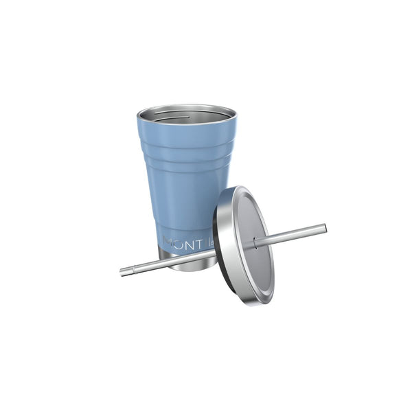 montiico mini smoothie cup slate blue