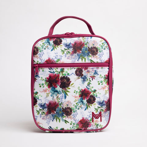 MontiiCo Insulated Lunch Bag- Floral