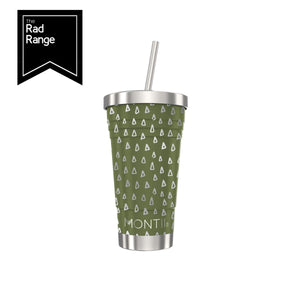 montiico olive geo smoothie cup