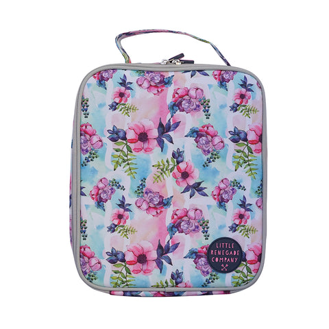 little renegade company pastel posies lunchbag