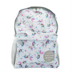sparkles unicorn midi backpack