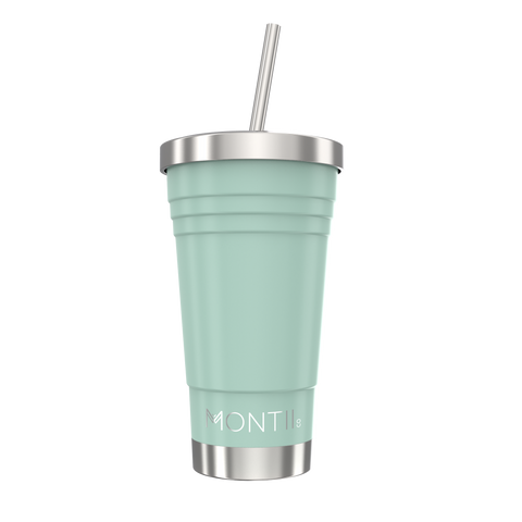 montiico original smoothie cup eucalyptus green