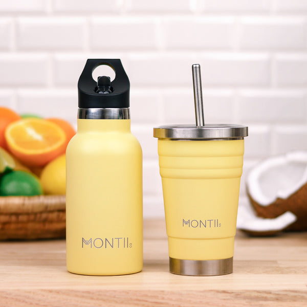 montiico mini smoothie cup honeysuckle yellow
