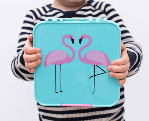 Little Lunch Box Co - Bento 3 - Flamingo