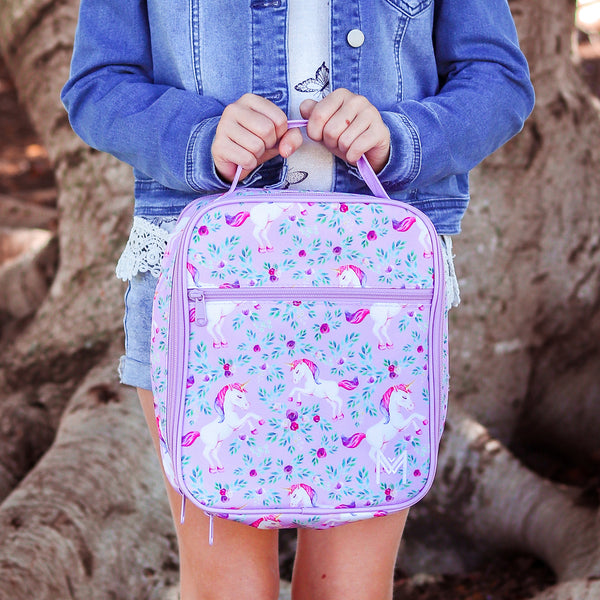 montiico unicorn insulated lunchbag