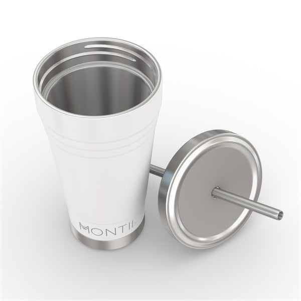 MontiiCo Smoothie Cup - White