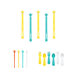the lunch punch value pack wrap bands stix and spoons and forks