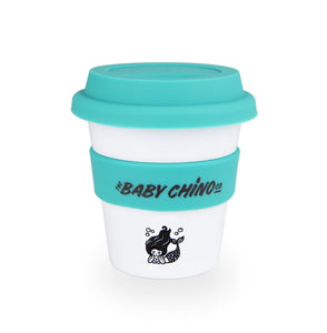 the baby chino co cup aqua mermaid