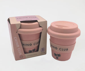 chino club babychino cup pink