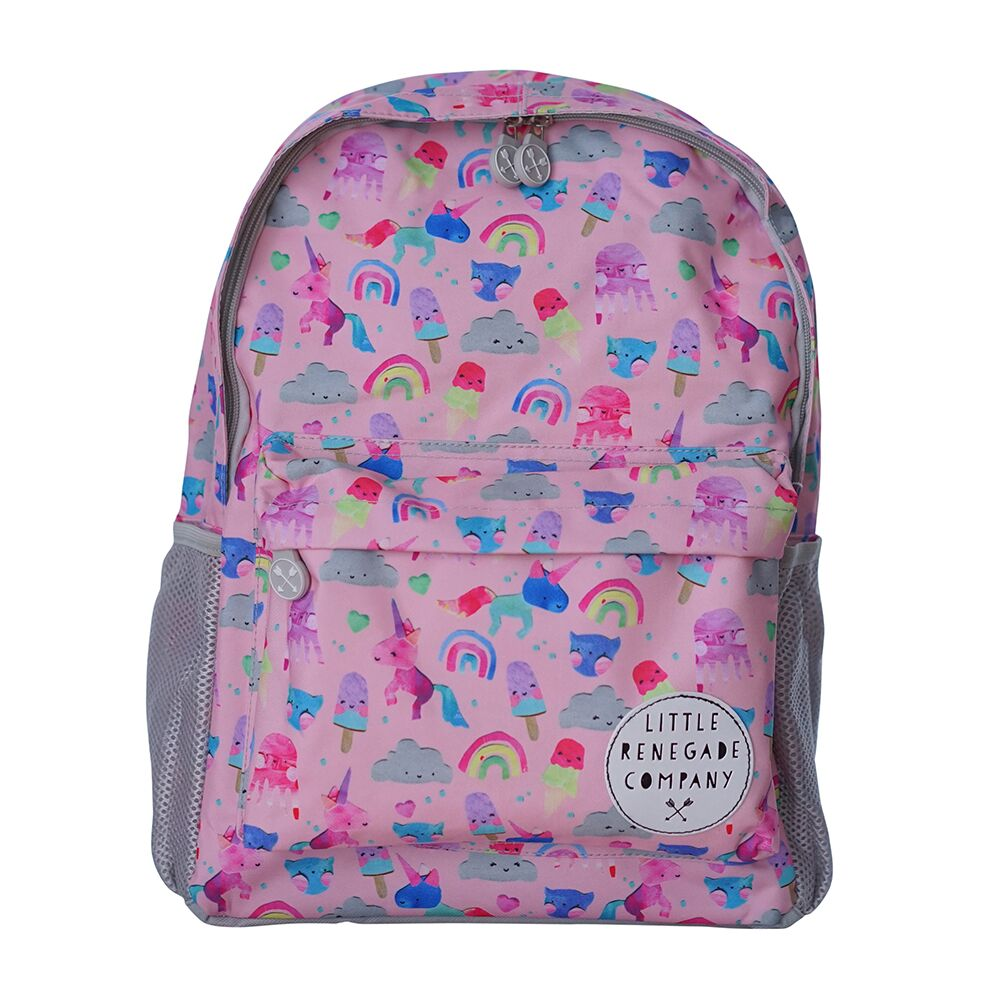 Little Renegade Company Midi Backpack - Unicorn Friends