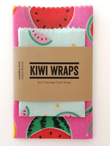 Kiwi Wrap - Melons- Lunch Pack small + medium wraps