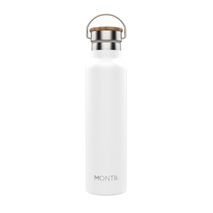 montiico mega drink bottle white