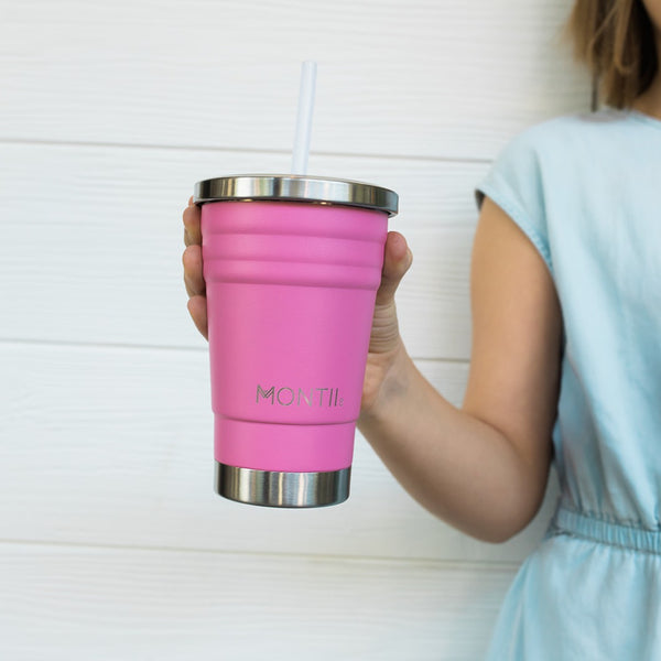 MontiiCo Mini Smoothie Cup - Pink