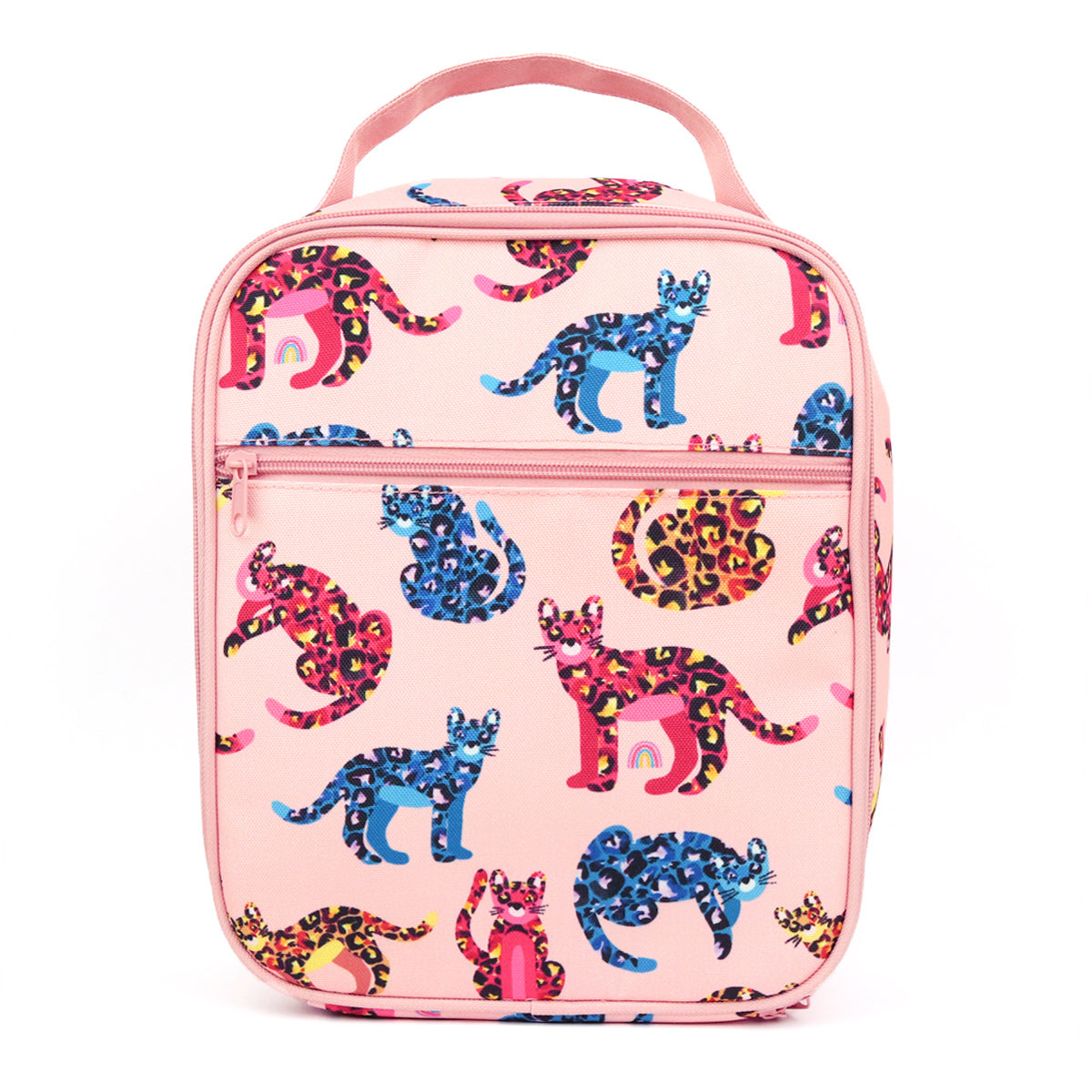 montiico insulated lunchbag kasey rainbow jungle cats