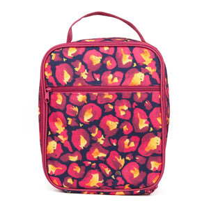 montiico insulated lunchbag leopard kasey rainbow