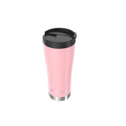 MontiiCo Hot Stuff Reusable Coffee Cup- DUSTY PINK