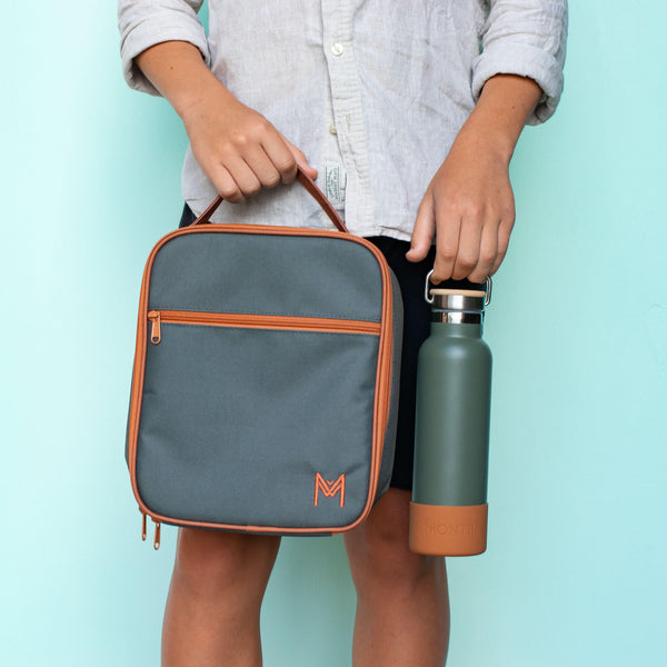 MontiiCo Insulated Lunch Bag- Moss