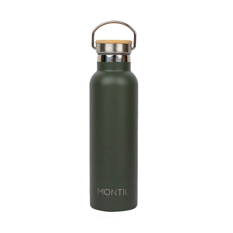 MontiiCo Original Drink Bottle - Moss
