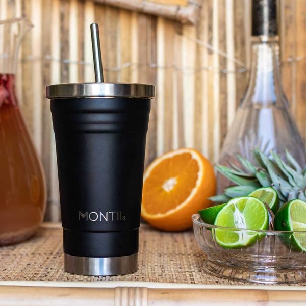 montiico smoothie cup black