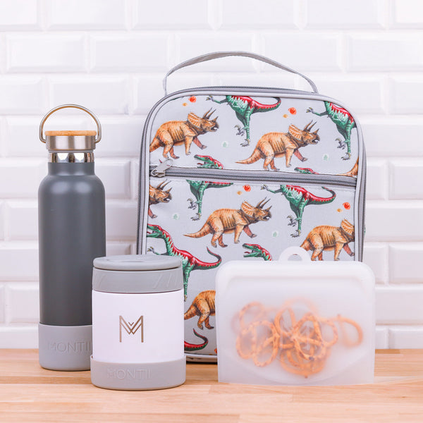 montiico pack and snack bags clear