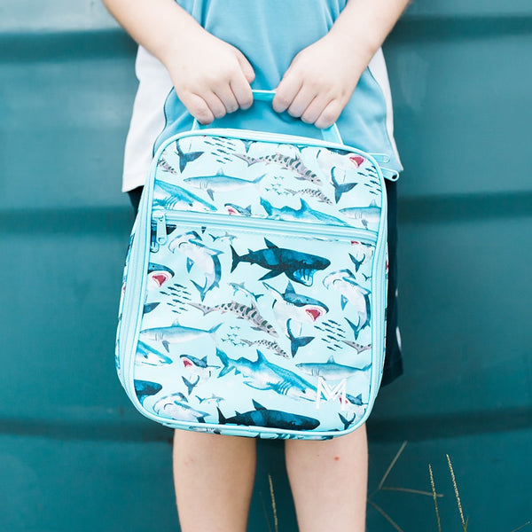 MontiiCo Insulated Lunch Bag- Shark