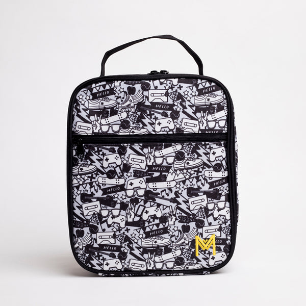 MontiiCo Insulated Lunch Bag- Street