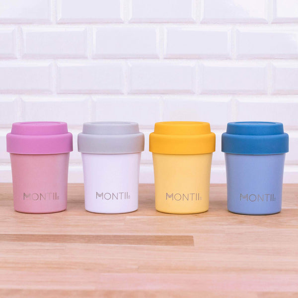 MontiiCo Mini Coffee Cup - White