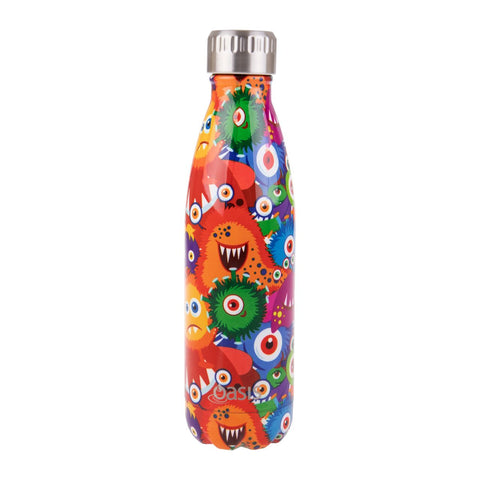 oasis monsters drink bottle 500ml
