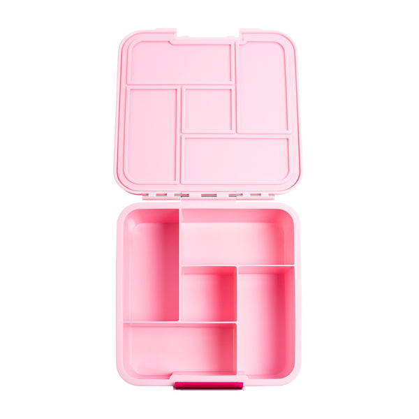 little lunchbox co bento 5 pink plain
