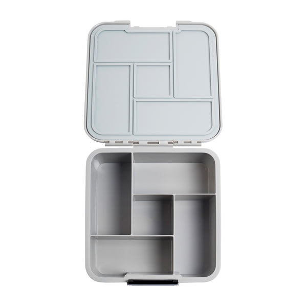 little lunchbox co bento 5 grey plain