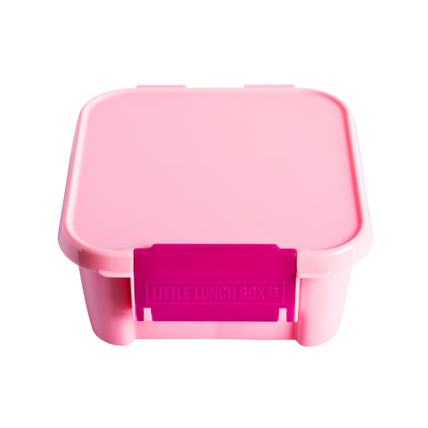 little lunchbox co bento 2 pink plain