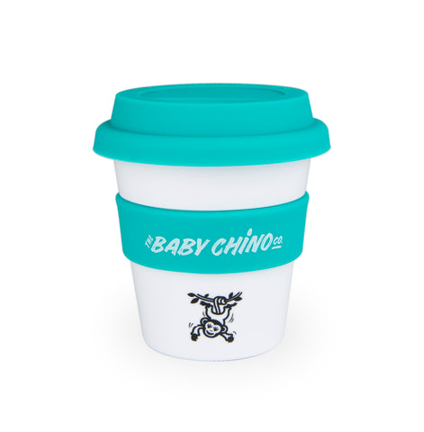 the baby chino co aqua monkey keep cup