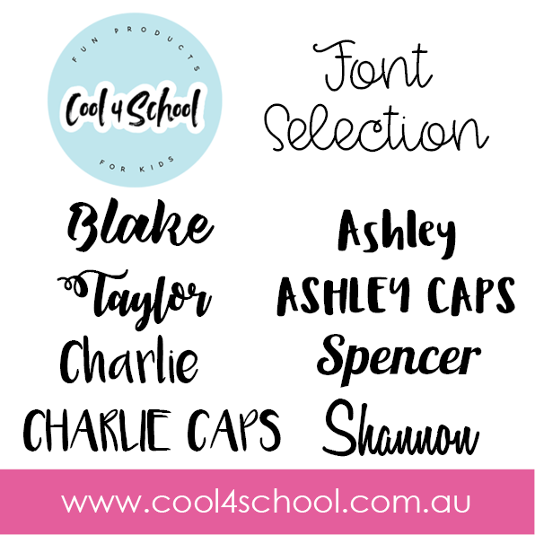 Personalised Mini Name Label