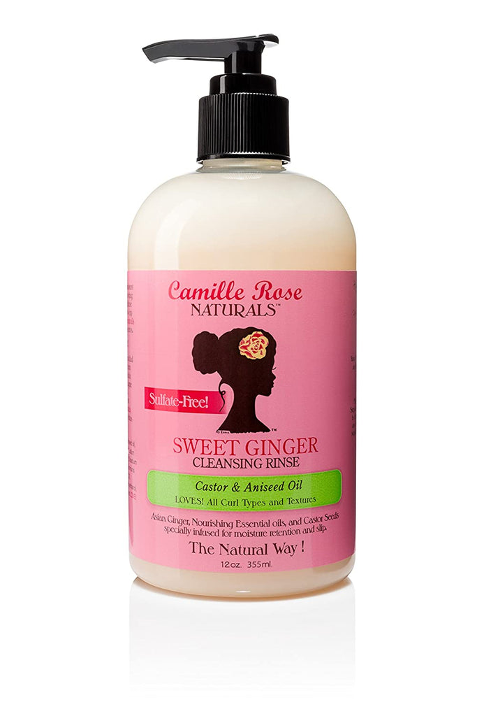 Camille Rose Sweet Ginger Cleansing Rinse (12oz)
