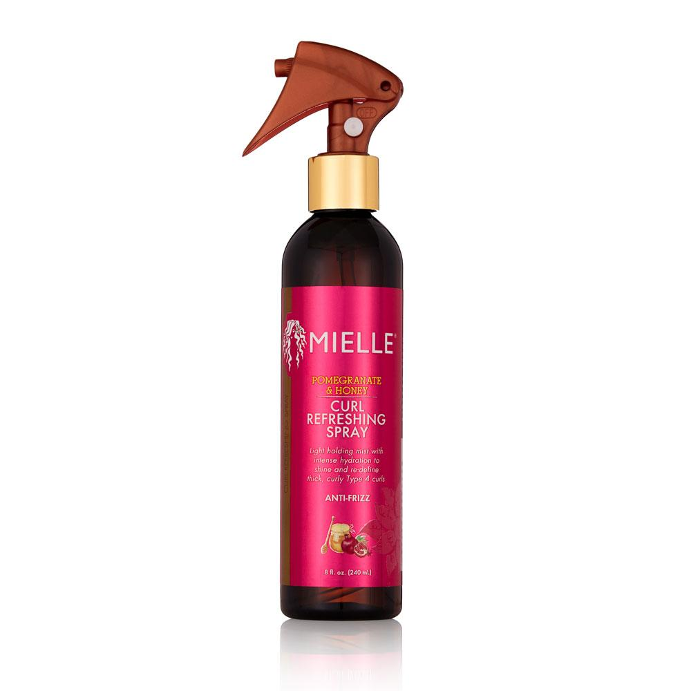 Mielle Pomegranate & Honey Curl Refreshing Spray (8oz) - empress mane