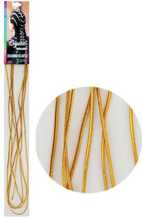 Braid Elastic - Gold