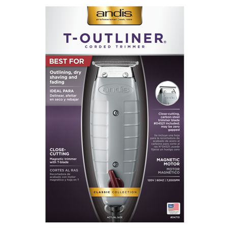 Andis T-Outliner (3-Prong Corded Trimmer)