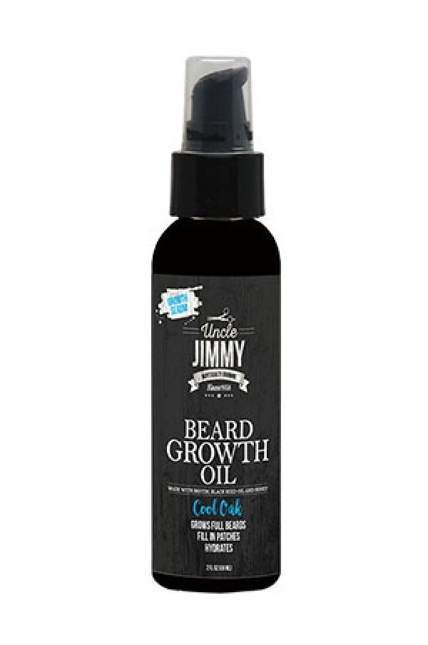 Uncle Jimmy Beard Growth Oil (2 oz)