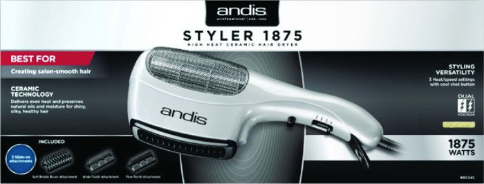Andis Styler 1875 High Heat Ceramic Hair Dryer